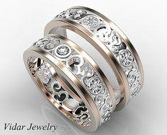 Matching Wedding Band SetHis and Hers Diamond Wedding Band
