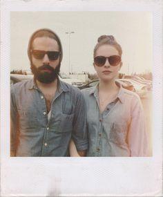 beard sunglasses denim Style streetstyle fashion men women tumblr
