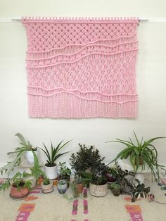 Macrame Wall Hanging by Melissa Jean Made