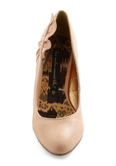 Winsome Waltz Heel, #ModCloth  for the actual weddding?