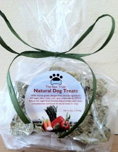 For every organic, human-grade dog treat purchased, Raw Truth Dog will give a treat to an animal in need.