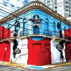 Puerto Rico Island, Puerto Rico Trip, San Juan Puerto Rico, Puerto Rican Culture, Unusual Buildings, Work Abroad, Ocean Park, Travel Around The World, Places To Visit