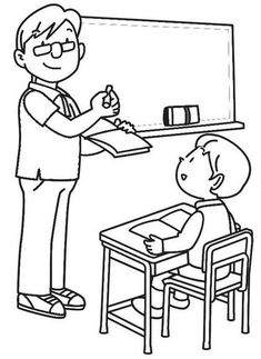 Top 9 Classroom Coloring Pages for Kindergarten Students - Coloring Pages Coloring For Kids, Coloring Books, Kindergarten Goals, Birthday Charts, Primary Activities, Mini Drawings, Learn Art, Stone Crafts, Drawing For Kids