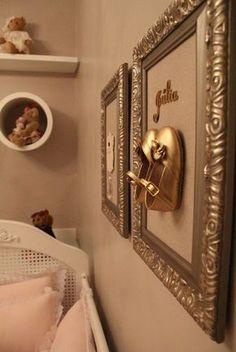 Decor Salteado - Blog de Decoração e Arquitetura : Quarto de bebê menina decorado com ursinhos e cor rosa - lindo!