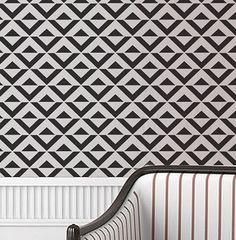 Wall Stencil Geometric Chevron Zig Zag Arrow Geometric Pattern Wall Room Decor Made by OMG Stencils Home Improvements Color Paintings 0053