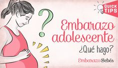 4b69649d3  Embarazo en la adolescencia  ¿QUÉ HAGO  + Riesgos 😰