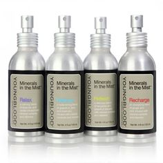 Minerals in the Mist™ by Youngblood Mineral Cosmetics New for Spring 2013! See them at The Makeup Show NYC this May!
