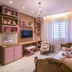 20 Creative Girls Bedroom Ideas for Your Child and Teenager Dream Rooms, Dream Bedroom, Home Bedroom, Girls Bedroom, Bedroom Decor, Bedrooms, New Room, Girl Room, Room Inspiration