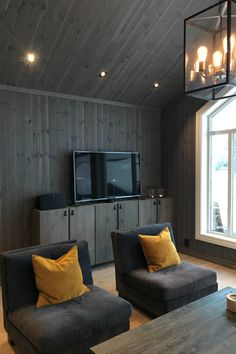 Winter Cabin, Cabin Interiors, Swedish House, Forest House, Home Reno, Panel, My Dream Home, Wooden Walls, House Plans