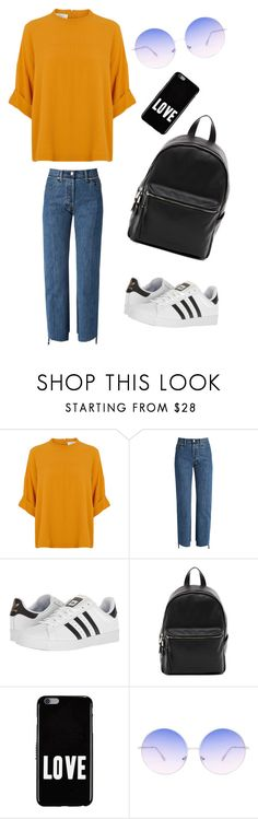 """""""School outfit"""" by indrasavje01 on Polyvore featuring Vetements, adidas, French Connection, Givenchy and Skinnydip"""