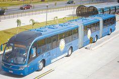 Dois veículos biarticulados, que estão entre os maiores do mundo, chegam em duas semanas