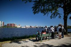 The Charles River Esplanade. Public greenspace that stretches three miles along the Charles River Shoreline. 10 minute walk from the BAC. #Boston