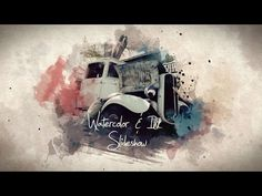Watercolor & Ink Slideshow - After Effects Template