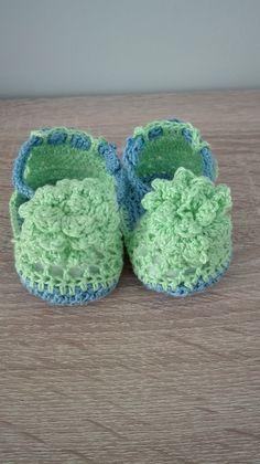 Zapato Bebé Crochet
