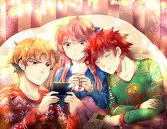 Happy Holidays by urusai-baka on DeviantArt Unordinary Webtoon, Webtoon Comics, Cute Love, Creative Art, Happy Holidays, Kawaii, Fan Art, Deviantart, Drawings