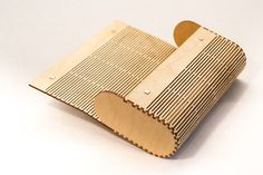 Wood Clutch Purse / Laser Cut Living Hinge / by LaseredDesign