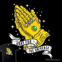 """""""Infinite Prayer"""" by Wolf Krusemark If he gets all the Infinity Stones, he can do it with the snap of his fingers. Just like that."""