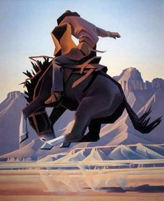 ed mell paintings | Animal Art - Ed Mell] Jack Knife; Image ONLY