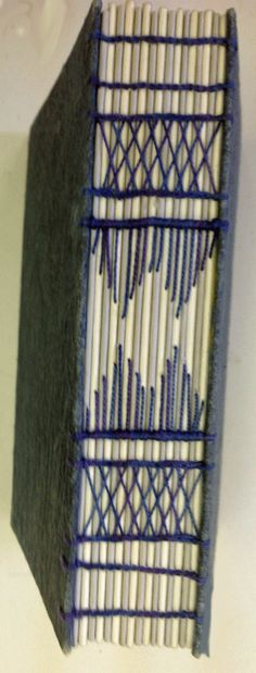 Newsletter of the NSW Guild of Craft Bookbinders: Coptic Binding with decorated Spine Nov 2nd