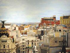 Pedro del Toro - Caballero de Gracia - Oleo/lienzo - 195 x 195 cm