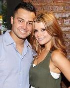 Nick Swisher & JoAnna Garcia, aka, Mr. & Mrs. Nick Swisher.