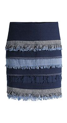 fringe detail skirt. Seems nice, but too expensive for me at $99.