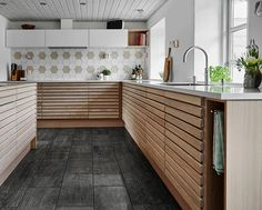 The New Angle On Customized Kitchen Cabinets In Smoked Oak Just Released 183 - neweradecor Black Kitchen Cabinets, Black Kitchens, Home Kitchens, Living Room Kitchen, Kitchen Decor, Kitchen Ideas, Best Bathroom Lighting, Apartment Balcony Decorating, Cool Apartments