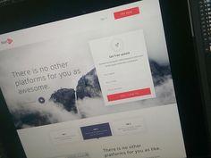 Landing Page Wip