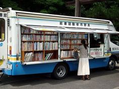 Boekenbus, Japan  Literacy is a need and a desire of people everywhere.  Even Japan.