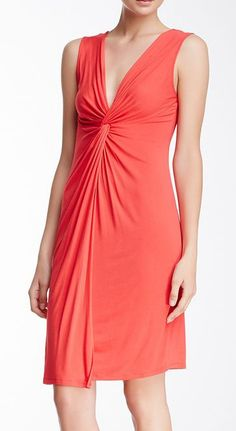 BCBG Karen Twisted Front Dress