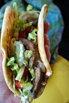 Gyros Meat and Tzatziki Sauce