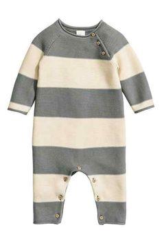 Salopetă tricotată fin