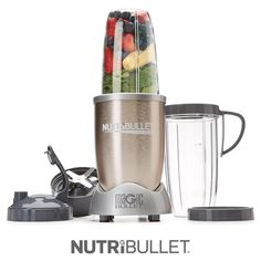 Take your health transformation to the next level with the optimized extraction and absorption capabilities of the NutriBullet PRO. With 900 watts of power, the NutriBullet PRO breaks down the toughest ingredients including seeds, wheat grass and whole fruit!