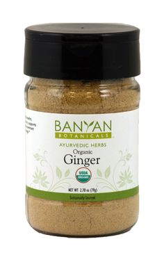 Ginger, org (2.78 oz. Spice Jar) $7.50