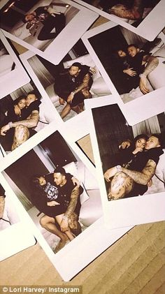 Steve Harvey's stepdaughter Lori dating Manchester United's Memphis Depay Black Love Couples, Cute Couples Goals, Couple Goals Relationships, Relationship Goals Pictures, Relationship Quotes, Memphis Depay, Polaroid Pictures, Polaroids, Couple Aesthetic