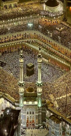 The Kaaba in Al-Masjid al-Haram, Mecca, Saudi Arabia Mecca Madinah, Mecca Kaaba, Mecca Wallpaper, Islamic Wallpaper, Islamic Images, Islamic Pictures, Masjid Haram, Wallpapers En Hd, Mekkah
