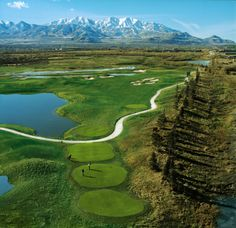 Stonebridge Golf Club - Salt Lake City, UT Salt Lake City, Golf Clubs, Utah, Golf Courses, Rocks, Bob, Simple, Places, Sports