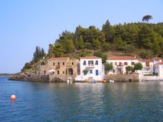 Kyparissi, Laconia, Peloponnese, Greece My Town, Greece, Beautiful Places, Around The Worlds, In This Moment, Mansions, House Styles, Travel, Places