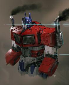 Optimus Prime by on deviantART Optimus Prime Transformers, Transformers Generation 1, Geeks, Nemesis Prime, Man In Black, Michael Bay, Cartoon Shows, 3d Cartoon, Cartoon Characters
