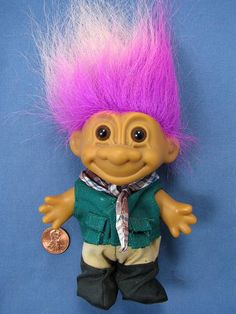 Camper Troll Doll by Russ