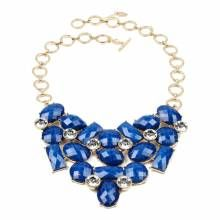Amrita Singh Blue Lapis East Hampton Bib Necklace