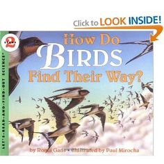 How Do Birds Find Their Way? (Lets-Read-and-Find-Out Science by Roma Gans 9780064451505 Preschool Science, Science Activities, Nature Activities, Teaching Science, Science Projects, Science Books, Science Nature, Life Science, Nature Story