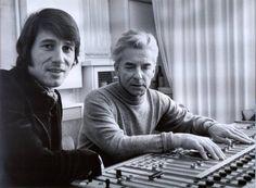Two different worlds speaking the same language: music: Udo Jürgens & Herbert von Karajan (1979)