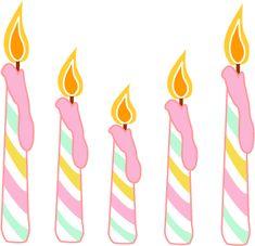Dibujos Velas Cumpleanos Para Imprimir Birthday Clipart Happy Me Greetings