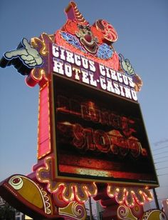 Where we used to stay when I first started flying:  Circus Circus Las Vegas.