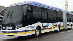 Mercedes-Benz 500 MA para o primeiro sistema BRT (Bus Rapid Transit) da região Norte do Brasil, em Belém, capital do Pará.