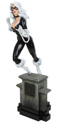 Bowen Designs Black Cat Painted Statue Retro Version ** Want additional info? Click on the image.
