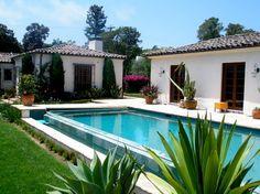 Mesa Road - mediterranean - Pool - Santa Barbara - The Aldrich Company - Landscape Design