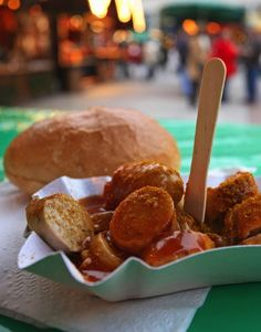 The one dish travelers must sample in Berlin is currywurst – this is the city's signature dish.