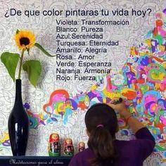 Pinta tu vida de colores!